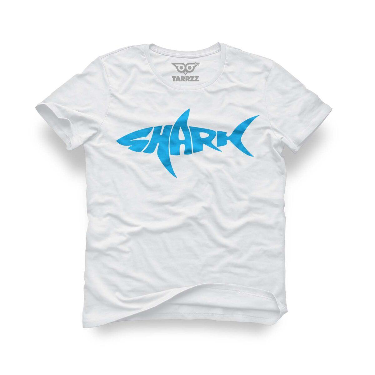 tarrzz-tasarim-beyaz-tisort-shark-kopek-baligi
