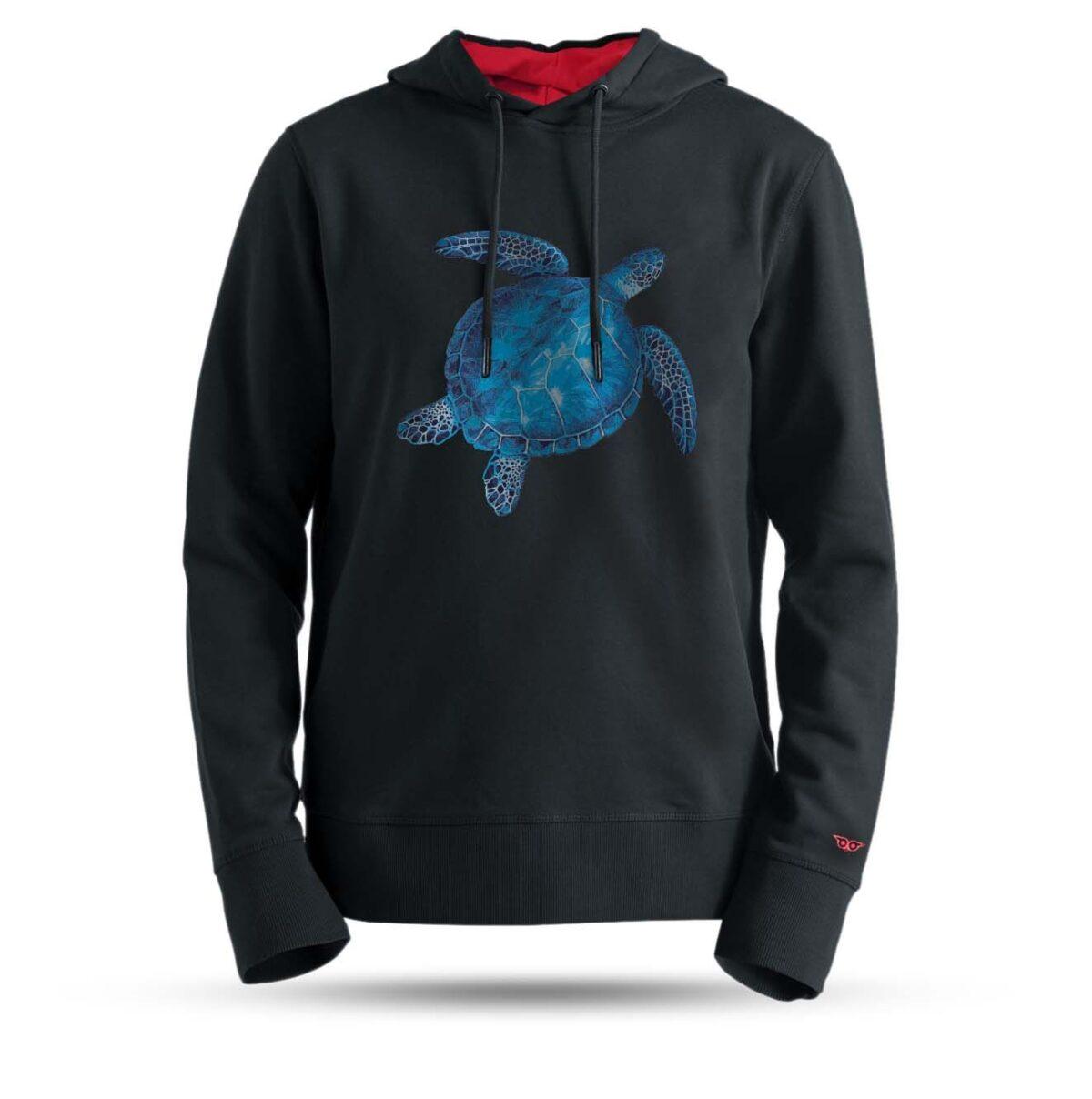 arrzz-tasarim-kapsonlu-sweatshirt-mavi-kaplumbaga