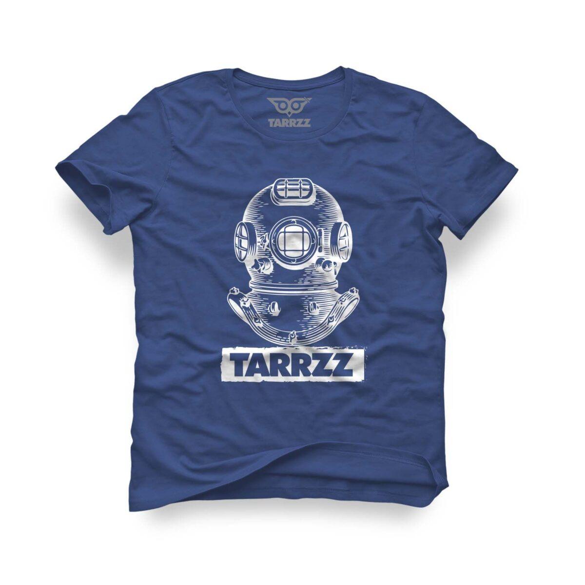 tarrzz-tasarim-marine-mavi-tisort-antik-dalgic
