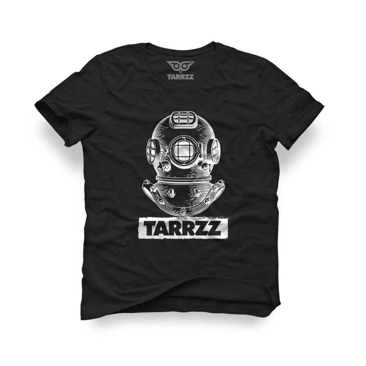 tarrzz-tasarim-siyah-tisort-antik-dalgic