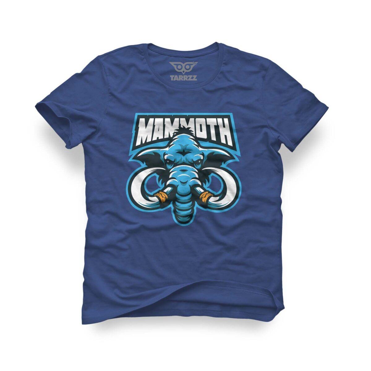 tarrzz-tasarim-marine-mavi-tisort-mammoth