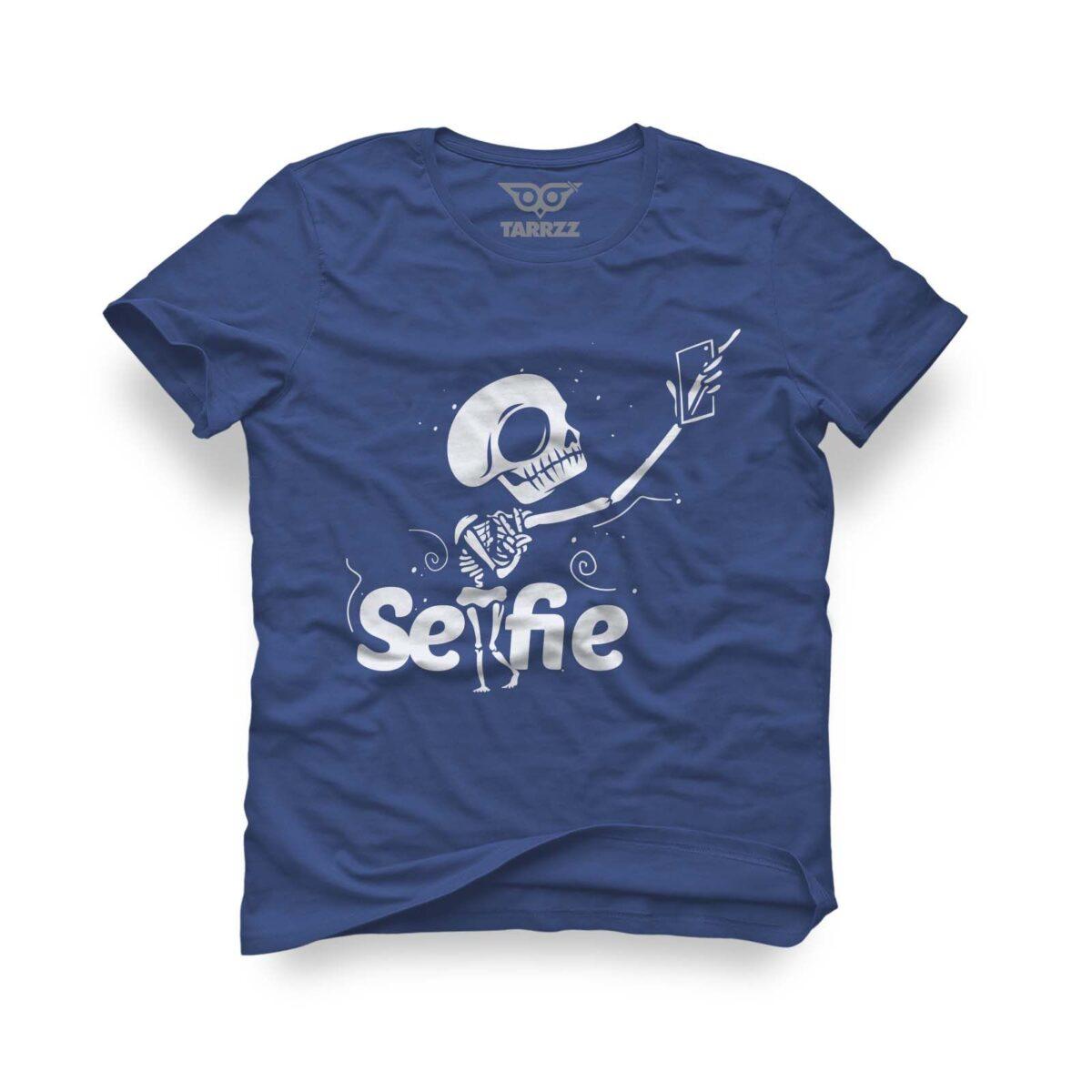 tarrzz-tasarim-marine-mavi-tisort-selfie
