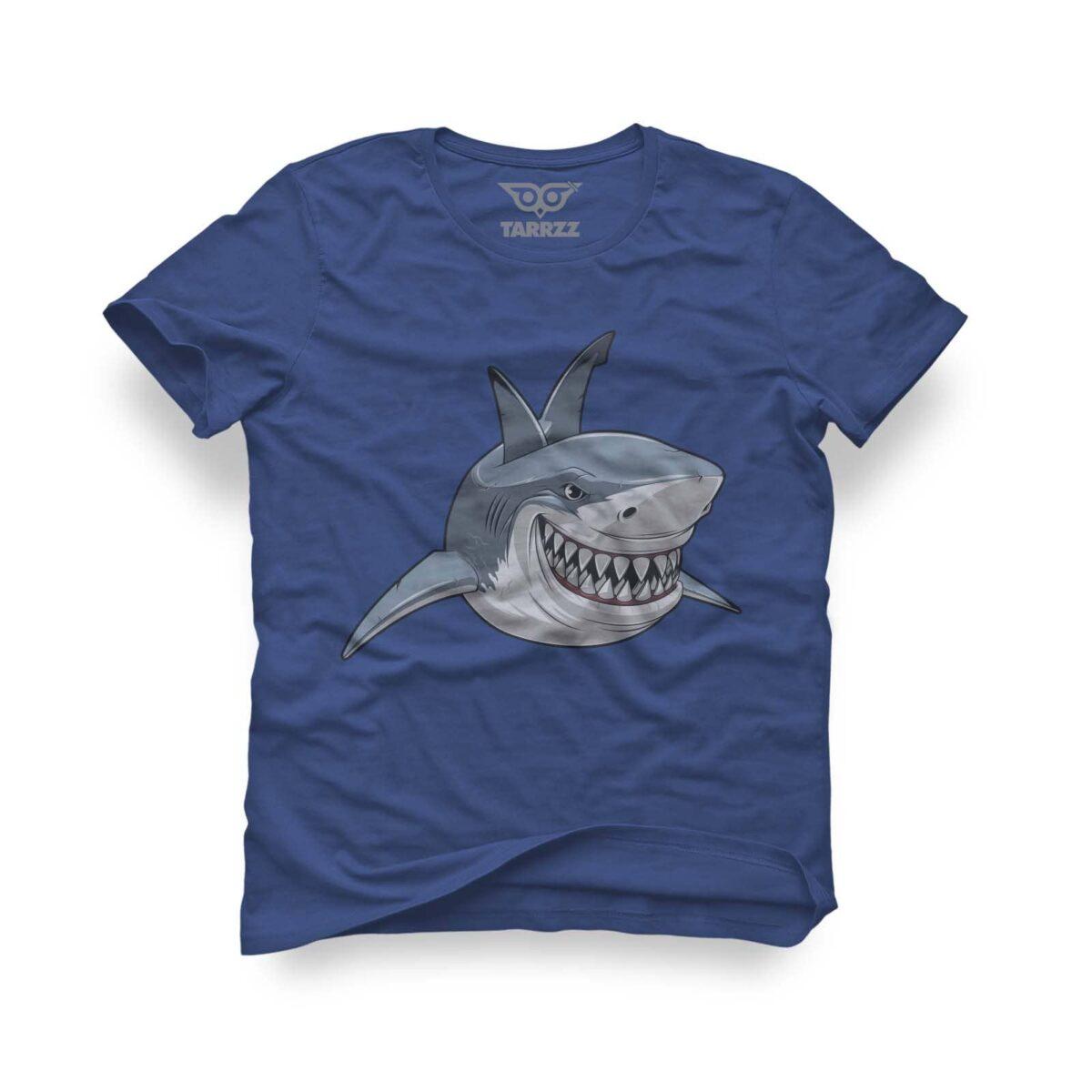 tarrzz-tasarim-marine-mavi-tisort-kopekbaligi-smile-like-a-shark
