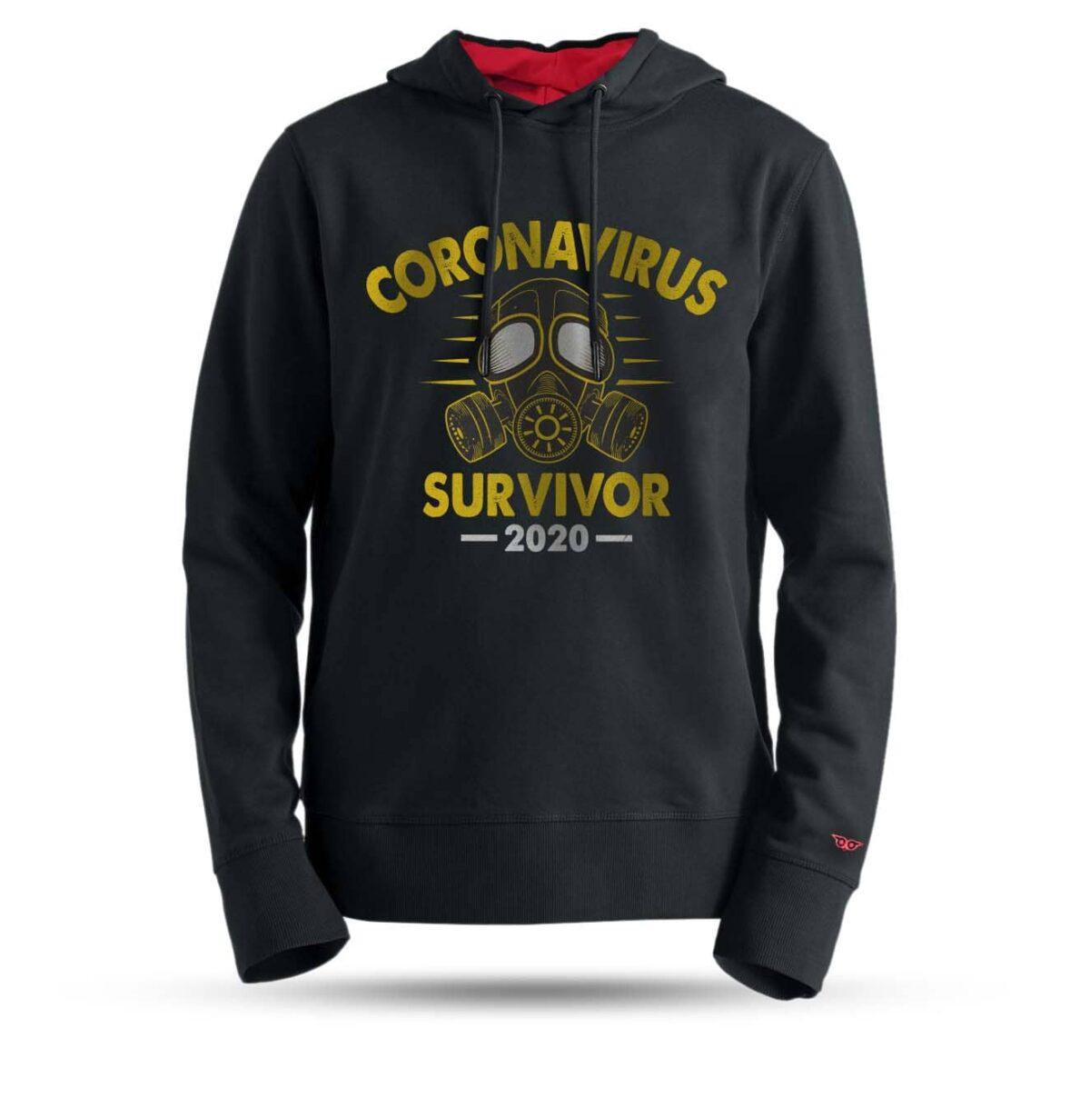 tarrzz-tasarim-kapsonlu-sweatshirt-corona-virus-survivor