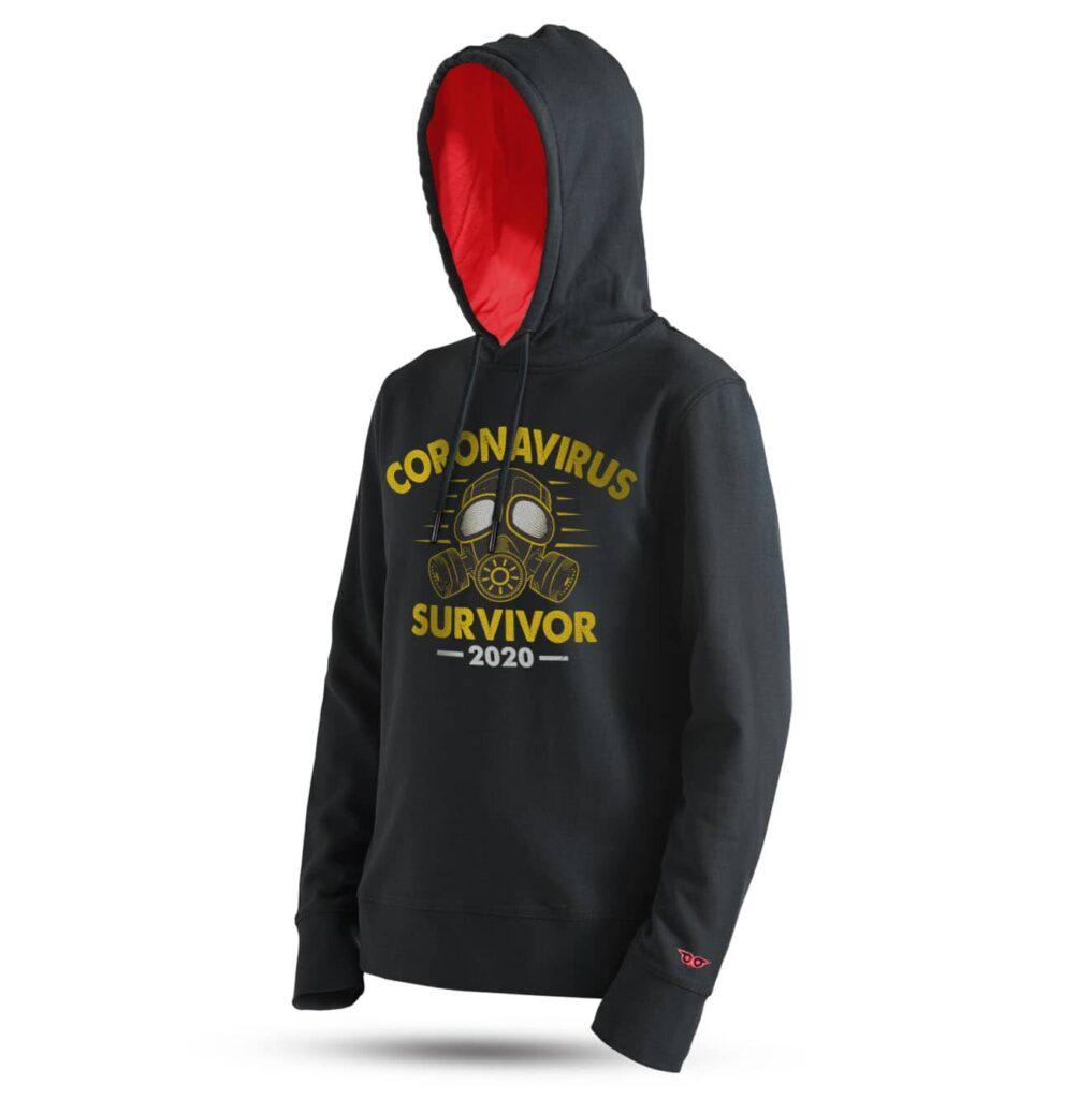 tarrzz-tasarim-kapsonlu-sweatshirt-corona-virus-survivor-baskili-sweatshirt-