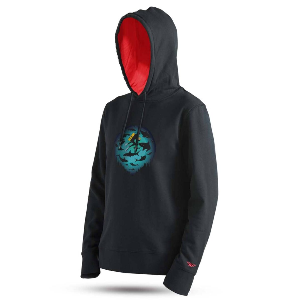 tarrzz-tasarim-kapsonlu-sweatshirt-dalgic-ve-kopekbalikli-deniz-baskili-sweatshirt