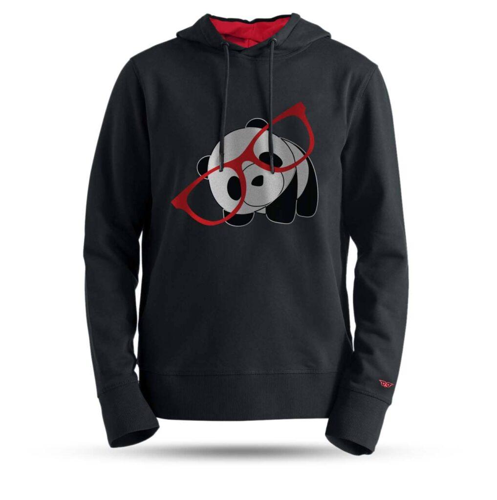 tarrzz-tasarim-kapsonlu-sweatshirt-gozluklu-panda