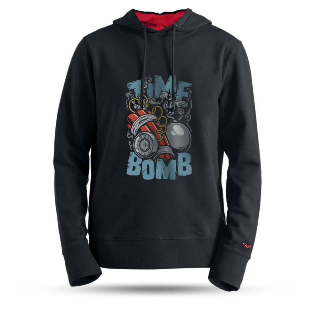 tarrzz-tasarim-kapsonlu-sweatshirt-time-bomb
