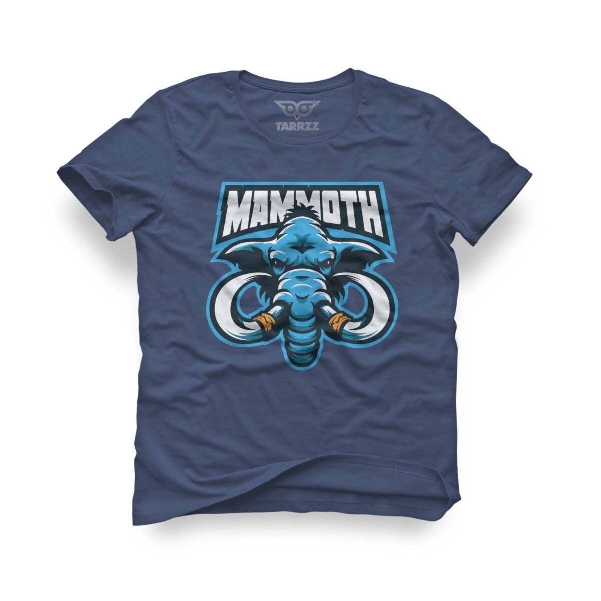 tarrzz-tasarim-indigo-mavi-tisort-mammoth