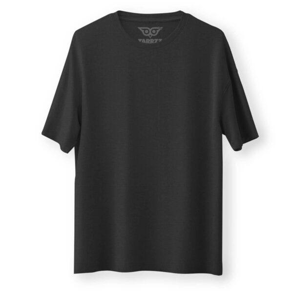 tarrzz-tasarim-siyah-oversize-bol-kesim-tisort-tshirt