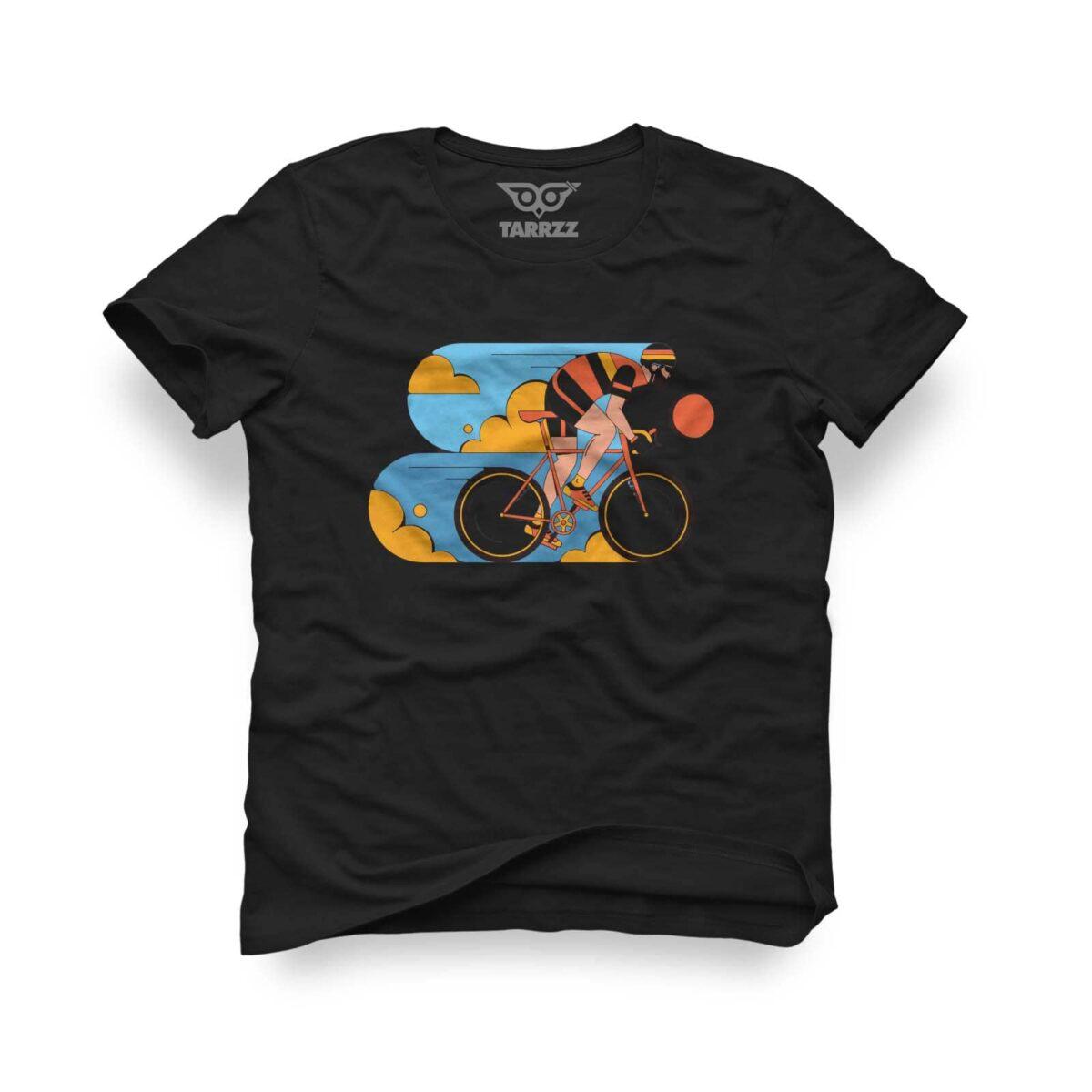 tarrzz-tasarim-siyah-tisort-bisikletci